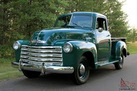 "5-WINDOW"" CHEVY 3100 1/2-Ton Pickup"
