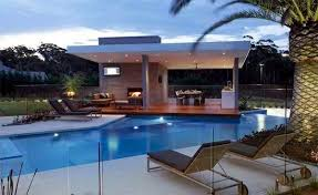 Holiday Relax lounge chair by the pool area - 15 ideas for modern lounge  furniture
