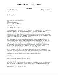 Application Letter To College Writing A Cover Letter For College