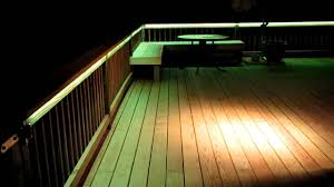 outdoor led deck lights. under rail deck lighting trends and led pictures outdoor lights o