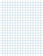 School Smart Graph Paper 8 1 2 X 11 Inches 1 10 Inch Ruling White