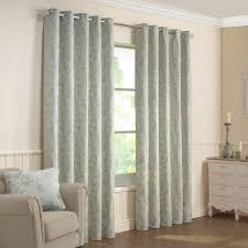 Next Living Room Curtains Elizabeth Duckegg Luxury Jacquard Lined Eyelet Curtains Pair