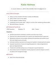 Resume Dispatcher Templates Dispatcher Sample Job Description Download Resume 1