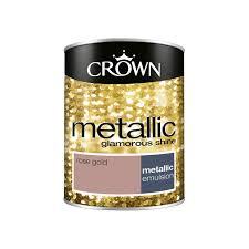 Armstead Paint Colour Chart Rose Gold Emulsion Colours Metallic Crown Paints
