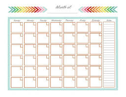 Template Monthly Calendar Best 25 Monthly Calendar Template Ideas On Pinterest Free Editable