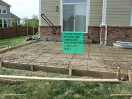 concrete slab patio. 24x24 Concrete Slab Top Patio Ideas With Interior Decor Home Diy P