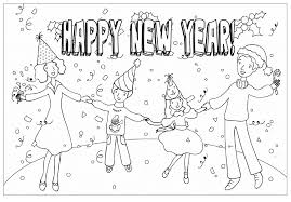 Small Picture 2014 New Years Day Coloring PagesYearsPrintable Coloring Pages