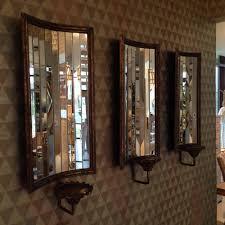 genuine mirrored wall sconce robert abbey lighting 3375 latitude