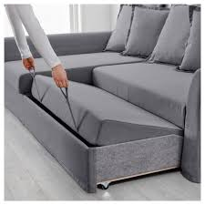 corner sofa bed. IKEA HOLMSUND Corner Sofa-bed Cover Made Of Extra Hard-wearing Polyester With A Sofa Bed