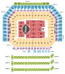 Ford Field Seating Chart View Garth Brooks Ford Field Tickets Red Hot Seats