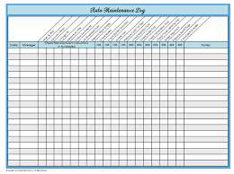 31 Days Of Home Management Binder Printables Day 23 Auto