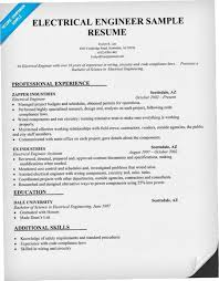 Electrical Engineering Resume Examples Awesome Electrical Engineer Resume Sample D44H Electrical Engineer Resume