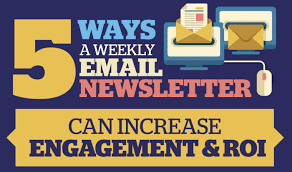 News Letters How Newsletters Increase Roi Infographic