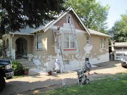 preparing for exterior painting