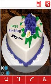 My Name Art On Birthday Cake For Android Apk Download