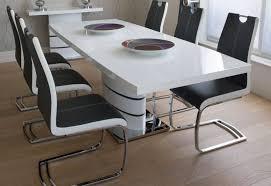 white high gloss greenapple rimini extending dining table