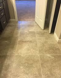 Sandalo 18x18 Castillian Gray SW92 Stacked Floor Tile