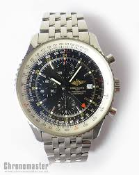 breitling navitimer world automatic chronograph leather strap and bracelet brl 191
