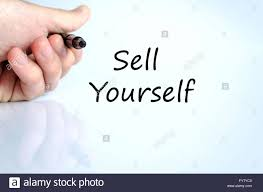sell yourself text concept stock photo royalty image sell yourself text concept