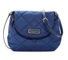 Amazon.com: Marc by Marc Jacobs Natasha Quilted Nylon Crossbody ... & Marc by Marc Jacobs Natasha Quilted Nylon Crossbody Handbag (Azure Blue) Adamdwight.com