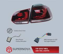 Mk6 Gti Brake Light Bulb Vw Golf Mk6 Vi 2009 2013 Led Tail Lights R Style For Gti