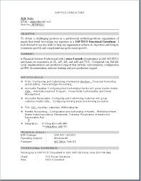 Easy Resume Format Inspiration Sap Basis Resume Sample Letter Resume Source