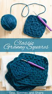 Classic Granny Square Pattern New Classic Granny Square Pattern You Should Craft