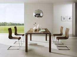 white modern dining chairs. White Modern Brushed Chrome Legs Dining Chairs Gloss Rectangle Table Acrylic Black