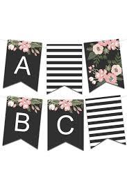 Birthday Banner Printable Printable Banners Make Your Own Banners With Our Printable