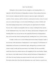 "virginia woolf passage analysis essay ""for most of history  3 pages declaration of independence essay"