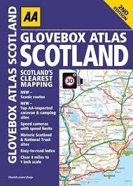 Aa Glovebox Atlas Scotland A5 Paperback Road Atlases