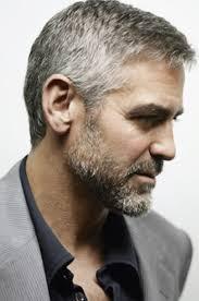 George Clooney Hellolovely Herenkapsels Kort Grijs Grijs