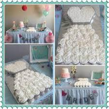 Stylish Board Make an Amazing Wedding Dress Cupcake Cake for
