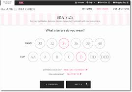 Victoria Secret Bra Measurement Chart Digital Design User Experience 7 Profitable Best Practices