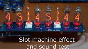 Review Nixie Clock Arduino SHIELD IN-12 & IN-14 Tubes GRA & AFCH