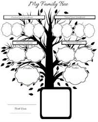 Drawing A Family Tree Template Pinterest