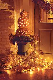 Halloween Pumpkins Topiary