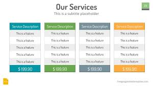 Pricing Table Templates Google Slides Themes Plans And Pricing Table Free Google