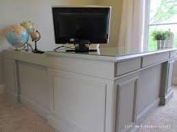 painted office furniture. Painted Desk Using Annie Sloan Chalk Paint In French Linen. Office Furniture I