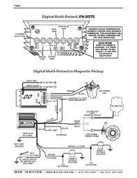 msd ignition wiring diagrams msd digital multi retard control to magnetic pickup