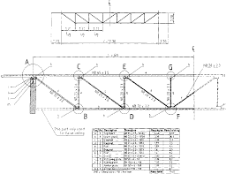 Steel Tubing Span Chart Roof Truss Guide Design And Construction Of Standard