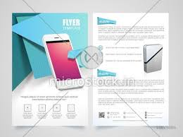 Two Page Brochure Template Creative Two Page Brochure Template Or Flyer Presentation For