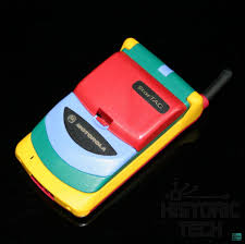Boxed Motorola StarTAC Rainbow Phone ...