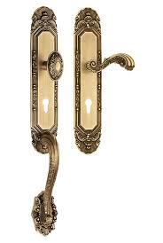 front door knob lock. Entrance Handle Set With Knob / Front Door Lock W