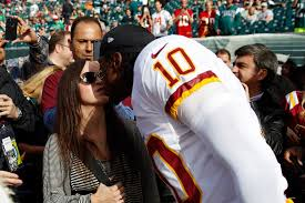 Gross. Disgusting. Weird. Watching NFL players kiss wives.