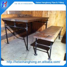 20mm black pipe floor flange for cast iron table legs park bench legs black iron pipe table