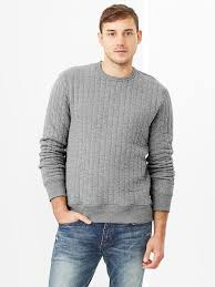 Gap Heavy Quilted Sweatshirt   Where to buy & how to wear & ... Gap Heavy Quilted Sweatshirt Adamdwight.com