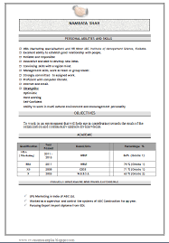 Mba Hr Resume In Doc Awesome Websites Mba Fresher Resume Format Doc