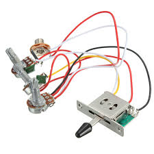 compare prices on wiring harness wire online shopping buy low high quality 5 way switch 500k pots knobs wiring harness for electric guitar