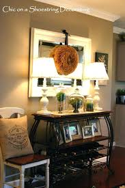 Console Table Decorating Ideas Kitchen Pictures With Size X